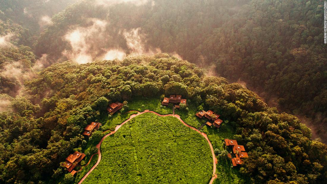 A luxury jungle escape with volcanoes, gorillas and adventure