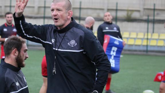 Graham Rowntree is enjoying his time as a forwards coach with Georgia.