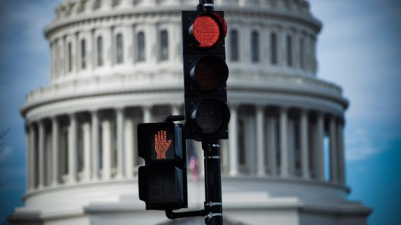 The US Capitol is seen in Washington, DC, December 17, 2018, as the Deadline for lawmakers to agree on a new spending deal to avert shutdown on Dec 22 approaches. - An angry Donald Trump told Democratic leaders at the White House on December 11 that he will shut down the US government because they refuse to approve billions of dollars in funding for his controversial Mexico border wall. (Photo by SAUL LOEB / AFP)        (Photo credit should read SAUL LOEB/AFP/Getty Images)
