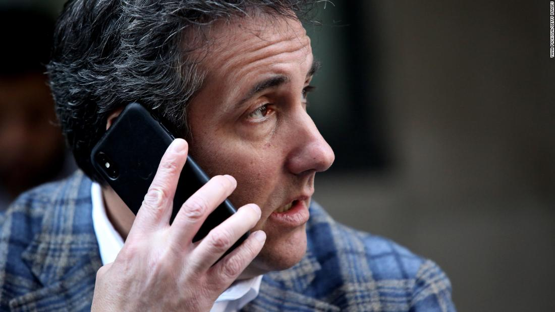 Secretly recorded audio surfaces of Cohen walking back plea