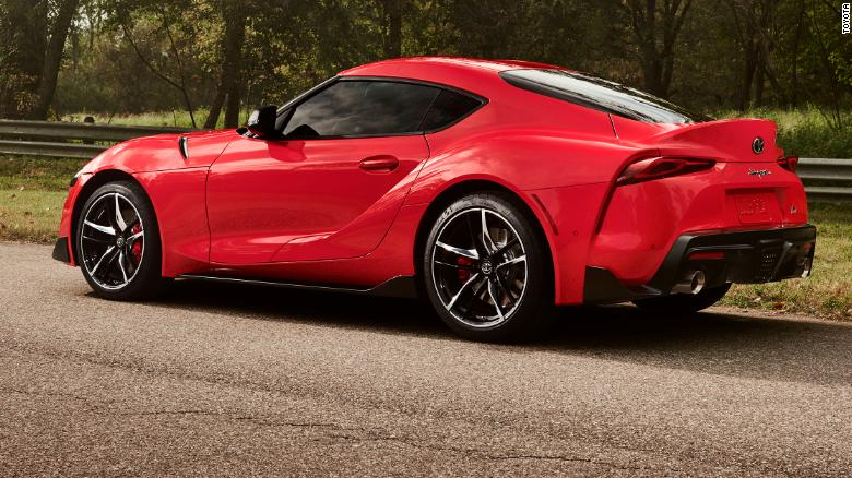 The Supra's top speed will be 155 miles an hour.