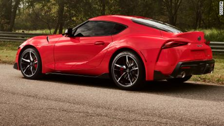 The Supra & # 39; s top speed will be 155 miles an hour.