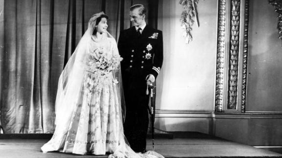 Prince Philip and Princess Elizabeth married in November 1947.