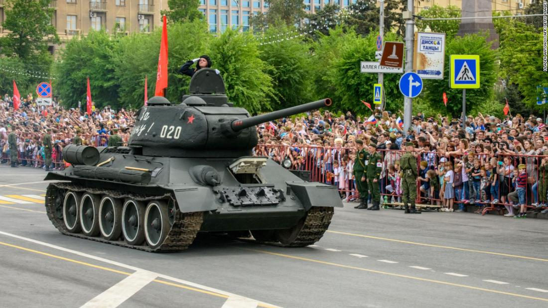 Russia is getting back 30 World War II tanks from Laos