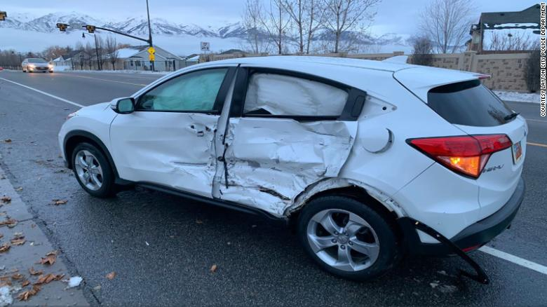 Blindfolded teen crashes car doing 'Bird Box' challenge