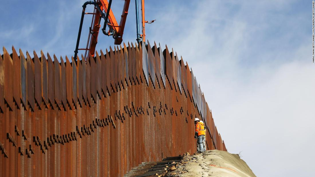 Trump sees the wall as a monument to himself