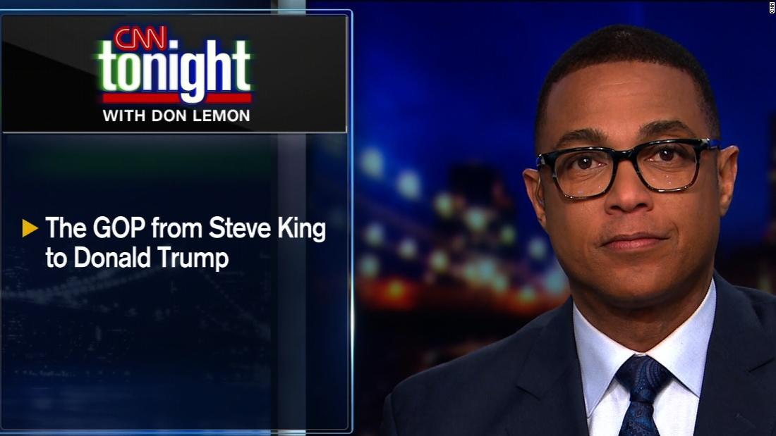 Lemon: Steve King has 'out Trumped' Trump - CNN Video