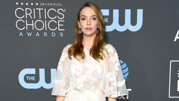 """""""Killing Eve"""" actress Jodie Comer attends the 24th annual Critics"""
