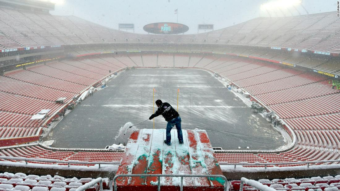 Patriots-Chiefs AFC championship game will have an arctic feel