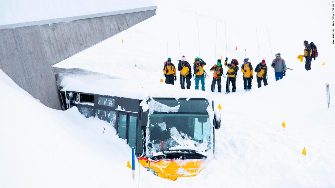 Extreme winter weather brings fatal avalanches and cuts off Alpine ski resorts