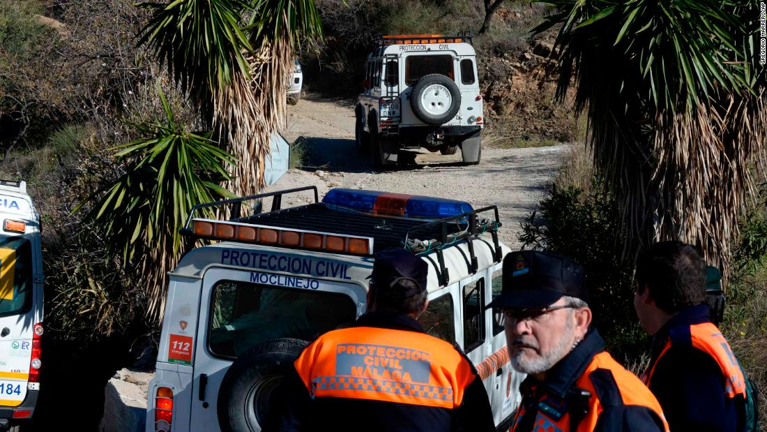 Rescuers in Spain find 'biological traces' of missing boy believed to have fallen into well