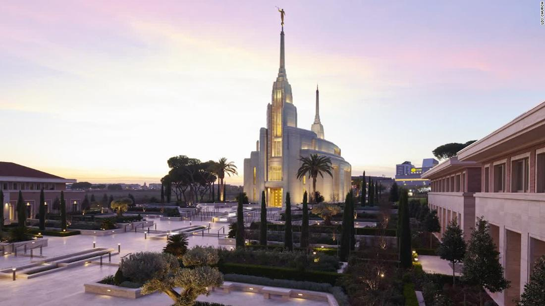Italy's first ever Mormon temple opens