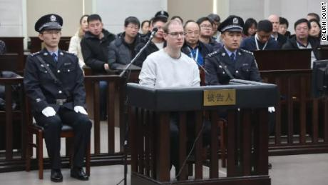 in China which sentenced Canadian to death for drug smuggling earlier today