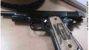 El Chapo Guzman's diamond-encrusted gun.