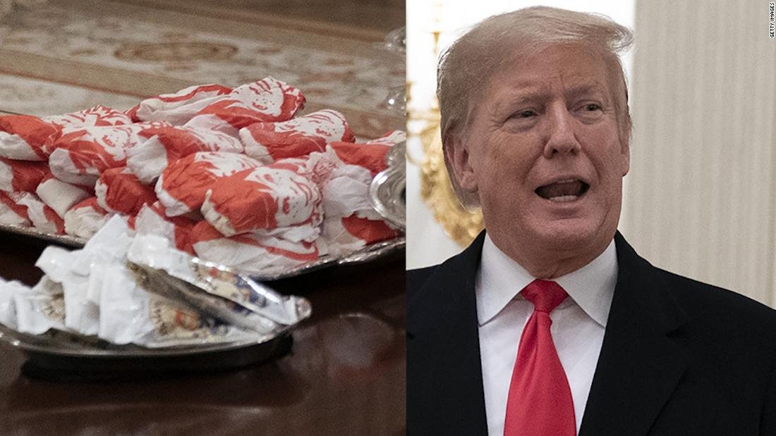 Donald Trump's epic fast food picture is perfectly Trumpian
