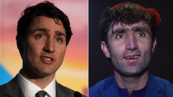 The resemblance between the two men has caused an online sensation.