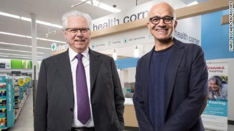 Microsoft and Walgreens join forces to take on Amazon in health care