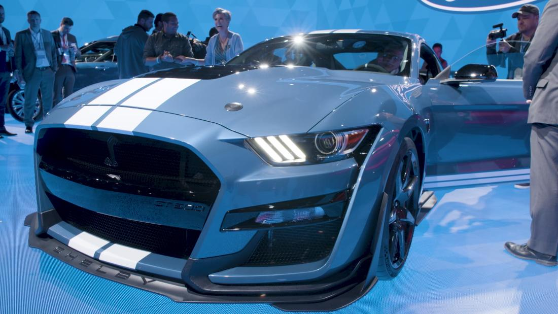 Ford says the 2020 Mustang Shelby GT500 is its most powerful car ever - CNN thumbnail