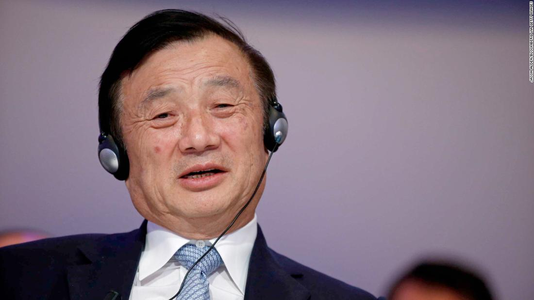 Huawei's founder praises Trump and denies his company spies for China