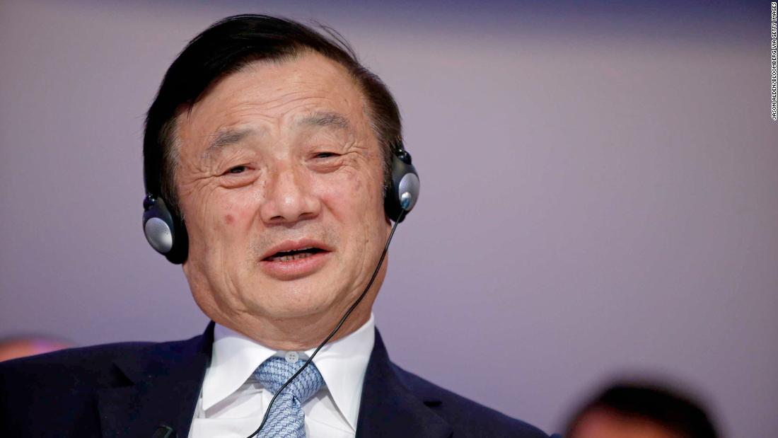 Image result for Huawei's founder praises Trump and denies claims his company spies for China