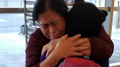 It took this separated family 246 days to reunite