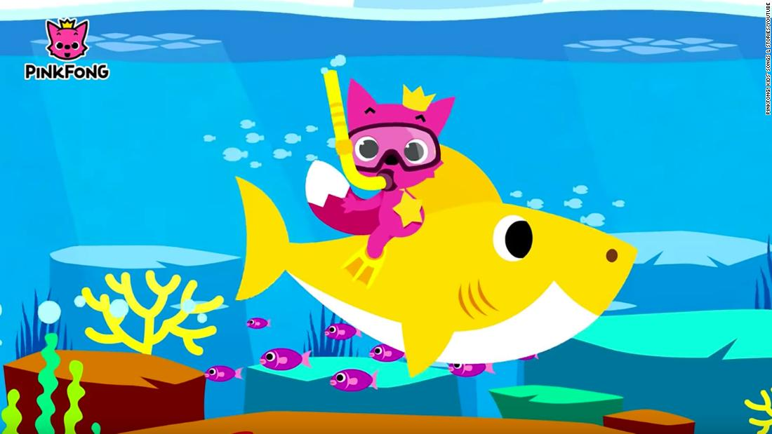 'Baby Shark' has become YouTube's most viewed video ever – CNN