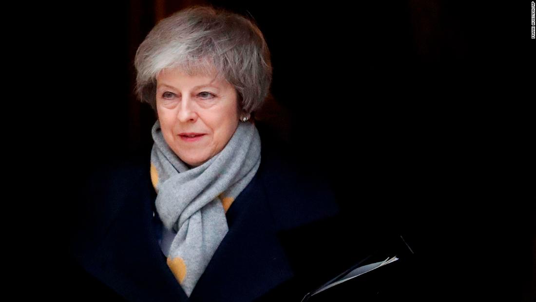 British lawmakers crush Theresa May's Brexit deal by record margin