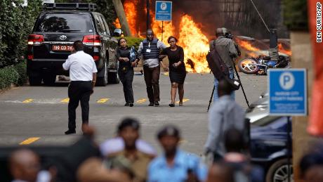 At least 21 killed as Kenya hotel siege is declared over