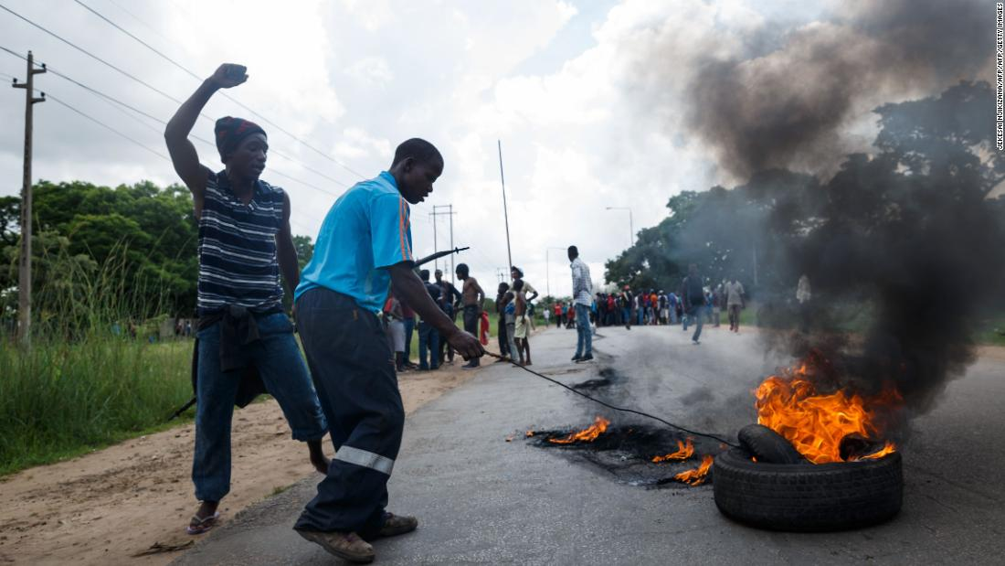 What is fueling Zimbabwe's protests?