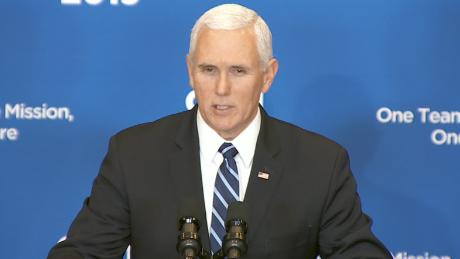 Pence declares & # 39; ISIS has been defeated & # 39; on the same day as deadly Syria attack