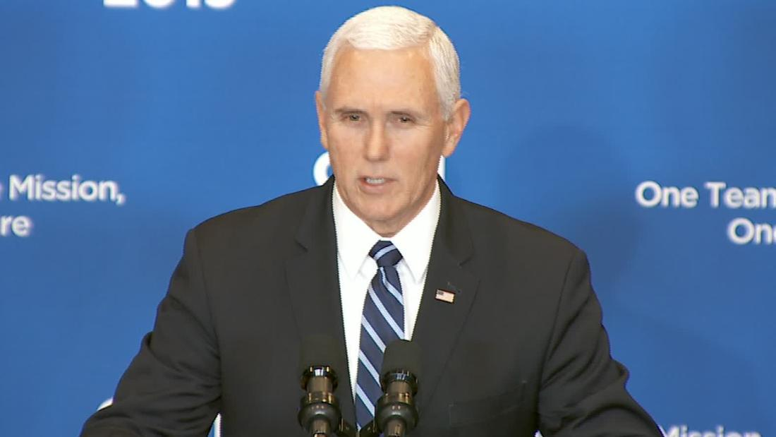 Pence declares 'ISIS has been defeated' on the same day as deadly Syria attack
