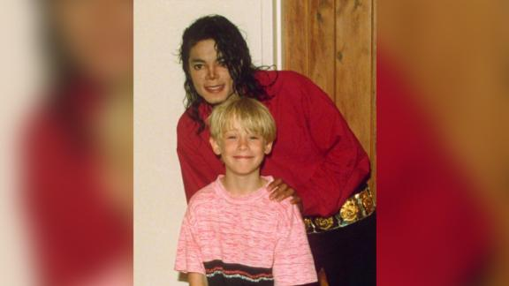 Macauley Culkin explains his friendship with Michael Jackson, pictured here with Michael Jackson in Bermuda, West Indies - 1991. Mandatory Credit: Photo by Ernie Mccreight/REX/Shutterstock