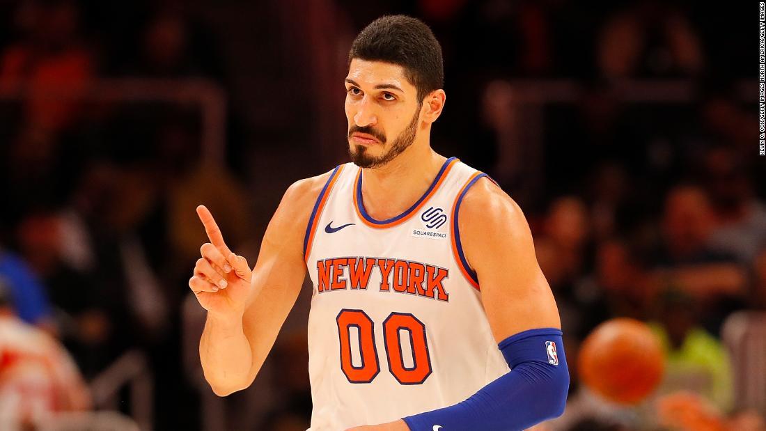 Report: Turkey seeks warrant for Knicks Enes Kanter