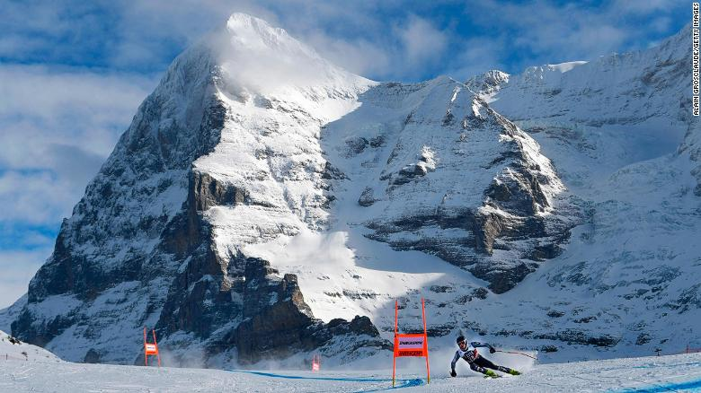 The Lauberhorn downhill race in Wengen, Switzerland marks the start of World Cup skiing's Classic season.
