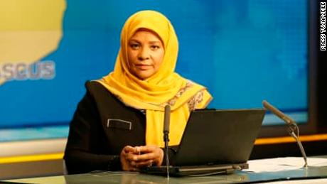 American-born Marzieh Hashemi is a news anchor for Press TV,  Iran 's English-language service.