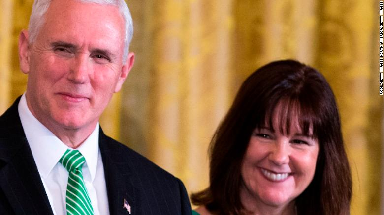 Vice President Mike Pence and Karen Pence test negative for coronavirus, spokesman says