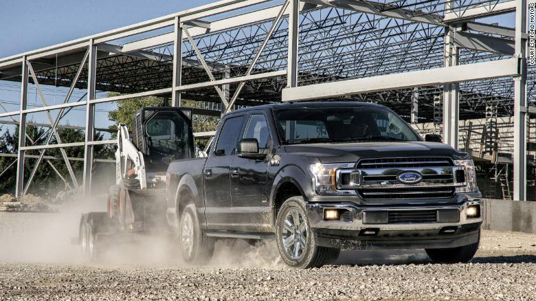 An electric pickup would be ideal for customers with the right needs, said Jim Farley, President of Global Markets at Ford. A gasoline-powered truck is shown here.