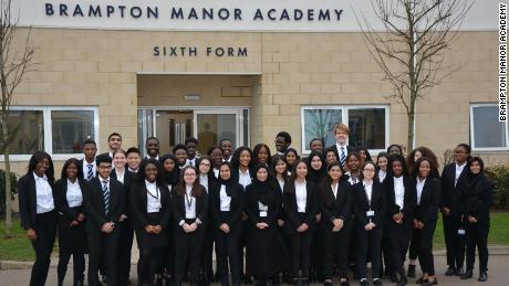 41 students from state school Brampton Manor Academy have offers to study at Oxford and Cambridge Universities