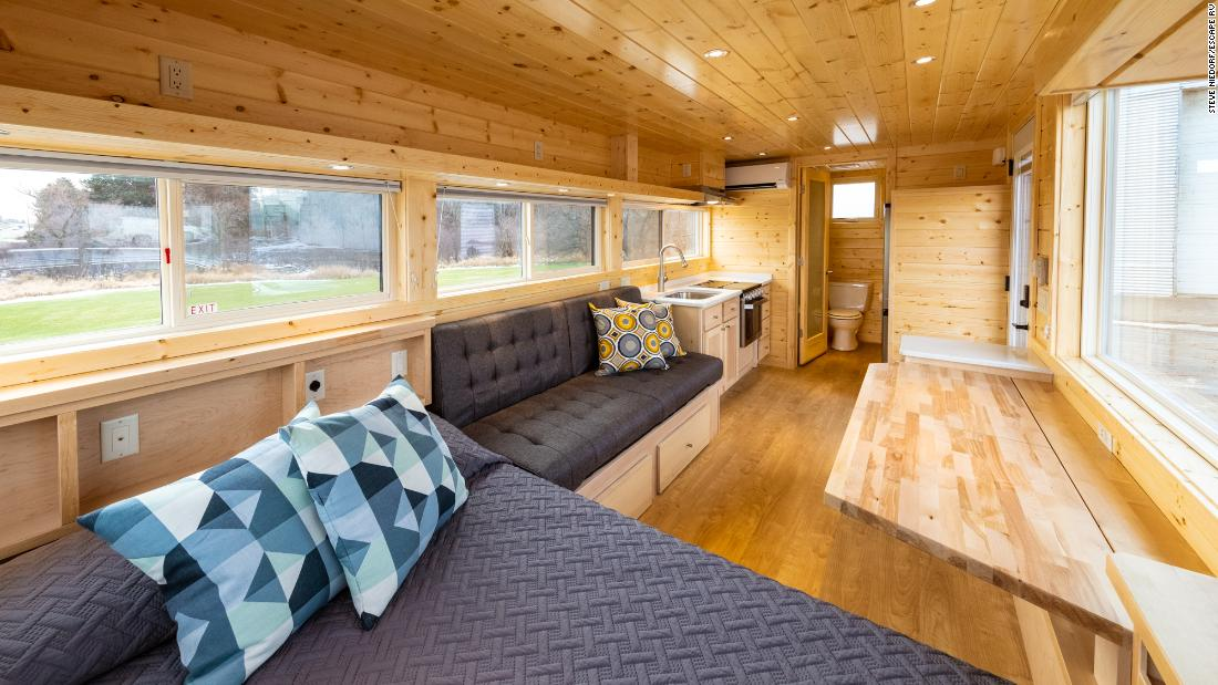 Main Floor Plans Tiny House On Wheels With Bedroom Html on
