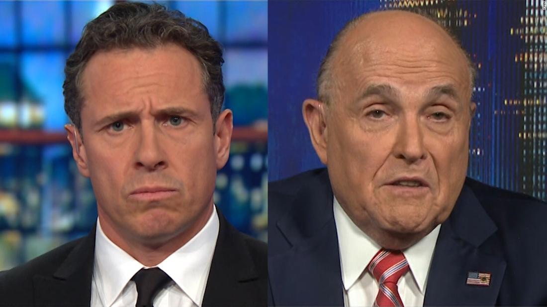 Late night mocks Giuliani interview