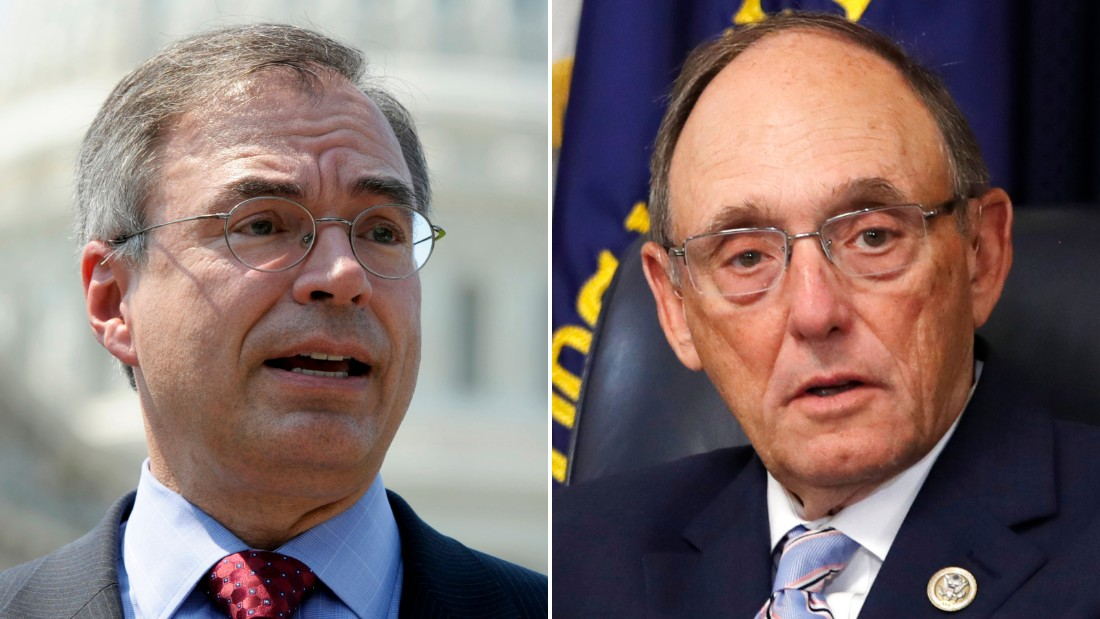 Republican Reps. Andy Harris of Maryland and Rep. Phil Roe of Tennessee are pictured.