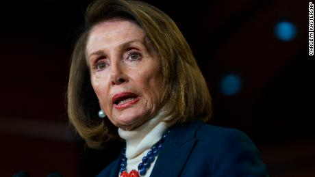 Pelosi says Trump goes off traveling with a military zone made it more dangerous