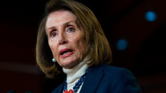 House Speaker Nancy Pelosi of Calif., speaks during a news conference on Capitol Hill in Washington, Thursday, Jan. 17, 2019. (AP/Carolyn Kaster)