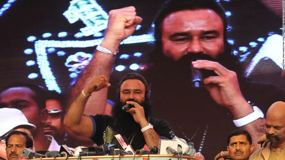 Controversial Indian spiritual guru sentenced to life in prison for murder
