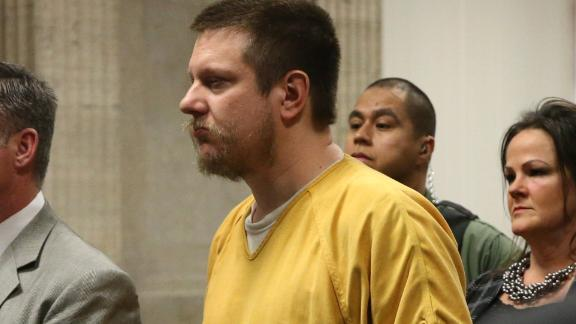 Jason Van Dyke is seen in the courtroom on Friday.