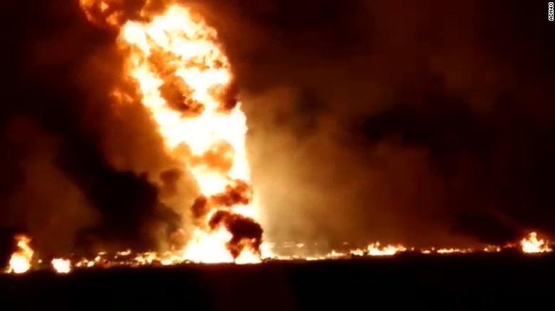 Fatal gasoline pipeline explosion in Mexico