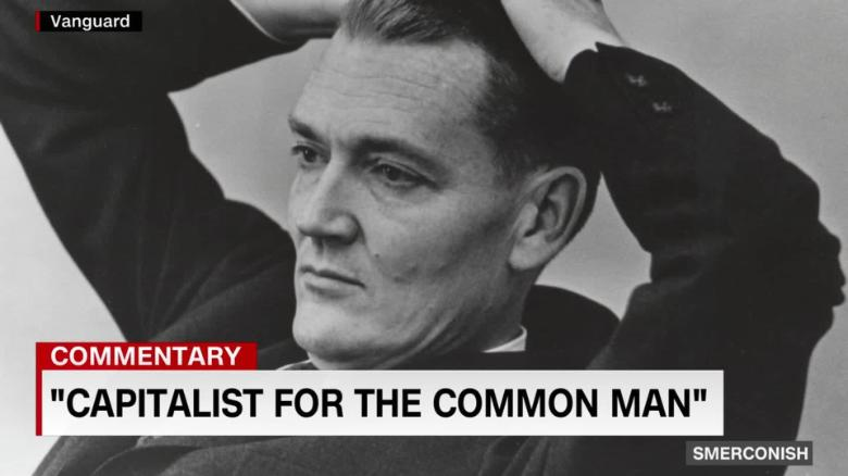 Remembering 'The capitalist for the common man'