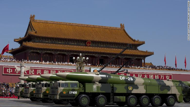 Think tank says China could quickly overwhelm U.S. military in Asia