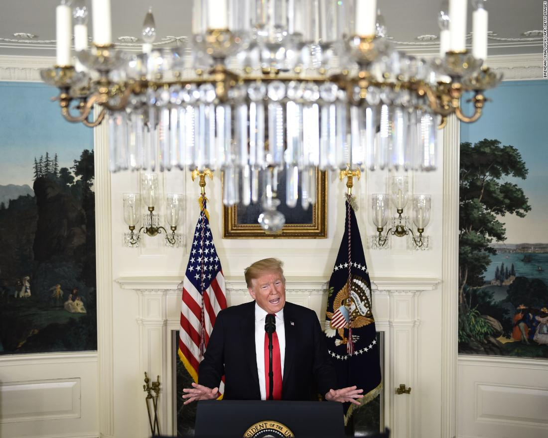 "US President Donald Trump <a href=""https://www.cnn.com/2019/01/19/politics/house-democrats-border-security-funding-trump/index.html"" target=""_blank"">announces a proposal to end the shutdown </a>on Saturday, January 19. In exchange for $5.7 billion for wall funding, Trump offered temporary protection from deportations for some undocumented immigrants. Democrats swiftly rejected the proposal."