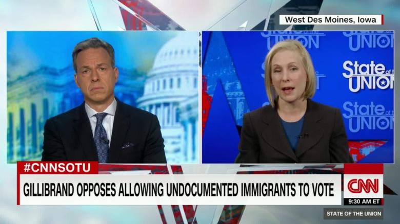 Gillibrand: Don't let undocumented immigrants vote